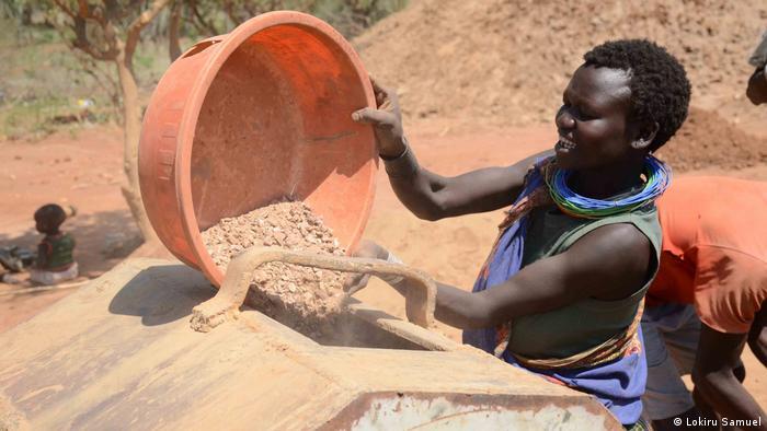 Uganda Gold Mining Cement Production