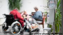 Germany's care homes are under isolation during the pandemic