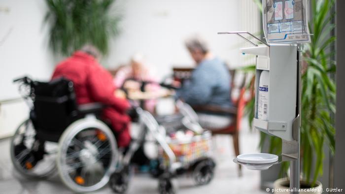 Deutschland Altenpflege Coronavirus
