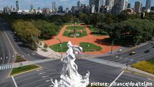 Argentinien Buenos Aires Coronavirus | Leere Straßen