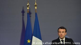 Ο Εμμανουέλ Μακρόν στην περίφημη ομιλία της Σορβόννης είχε κάνει λόγο για την ανάγκη σύστασης ευρωπαϊκών δομών σχετικά με την ανταλλαγή πληροφοριών