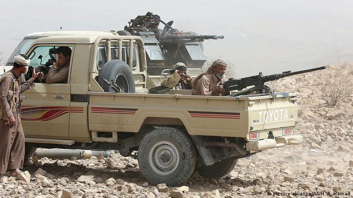 Участники конфликта в Йемене (фото из архива)