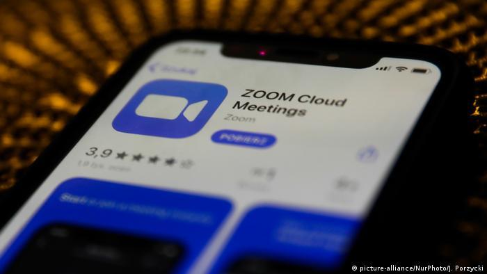 Logo ZOOM Cloud Meetings app