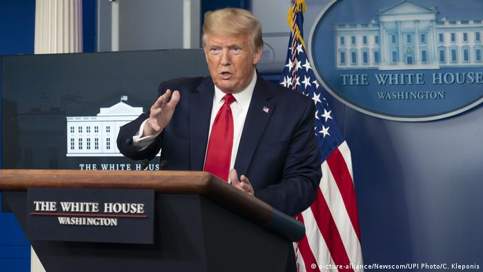 USA Coronavirus US-Präsident Donald Trump