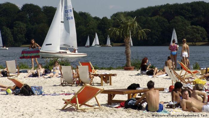 Strandbad Baldeneysee, Essen (picture-alliance/imagebroker/J. Tack)