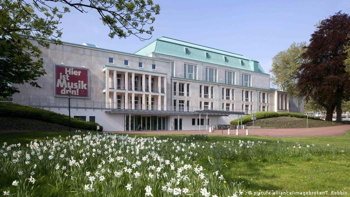 Essen Philharmonie (picture-alliance/imagebroker/T. Robbin)