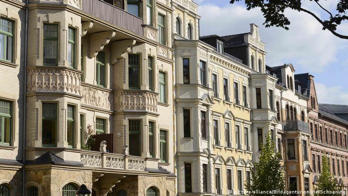 Kaßberg neiborhood, Chemnitz, Germany (picture-alliance/Bildagentur-online/Schoening)