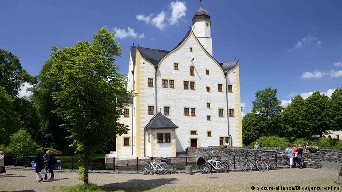 Moated castle Klaffenbach, Chemnitz, Germany (picture-alliance/Bildagentur-online)