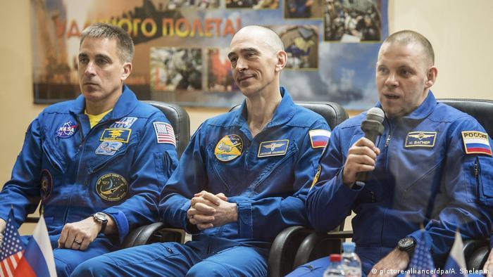 Russian Soyuz MS16 Crew PK