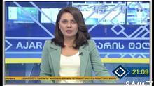 Die Nachrichtensendung von Ajara TV nach der Zuschauerbefragung