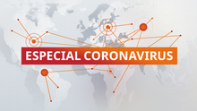 DW Especial Coronavirus Covid-19 Spezial Sendungslogo spanisch