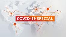 DW Covid-19 Special Sendungslogo englisch