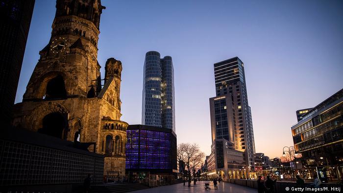 Deutschland Corona-Pandemie | leere Straßen in Berlin
