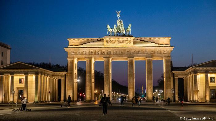 बर्लिन का ब्रांडेनबुर्ग गेट