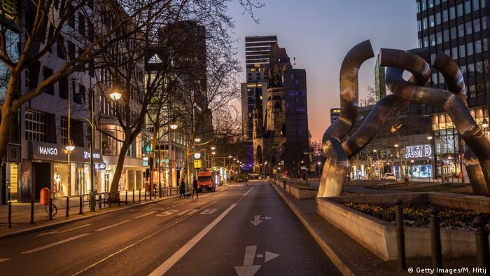 Berlinski bulevar Kudam ovako prazan ne liči na sebe