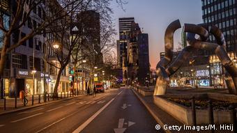 Έρημο το κέντρο του Βερολίνου λόγω κορωνοϊού