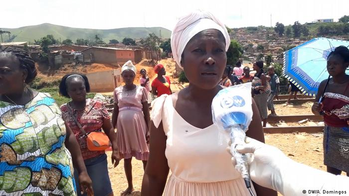 Angola N'dalatando | Wassermangel behindert Coronavirus-Prävention: Josefa Mateus