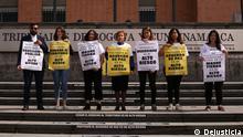 Kolumbien Aktivisten von Dejusticia