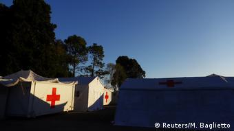 BG | Bau von temporären Coronavirus Kliniken | Argentinien - Buenos Aires (Reuters/M. Baglietto)