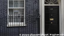Coronavirus | Großbritannien | Verwaiste Downing Street 10