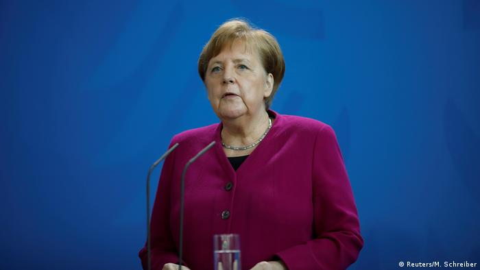 Coronavirus   Deutschland   PK Merkel (Reuters/M. Schreiber)