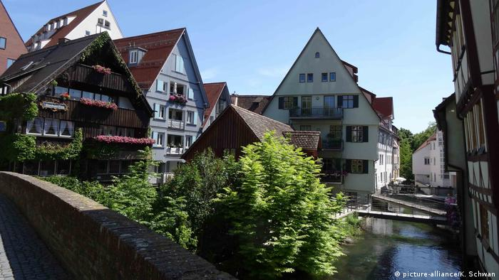 Fishermen's and tanners' quarter, Ulm, Germany (picture-alliance/K. Schwan)