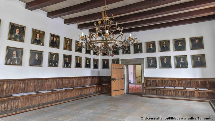Town Hall, Hall of Peace, Osnabrück, Germany (picture-alliance/Bildagentur-online/Schoening)