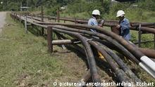 Ecuador Erdöl-Pipeline ARCHIV