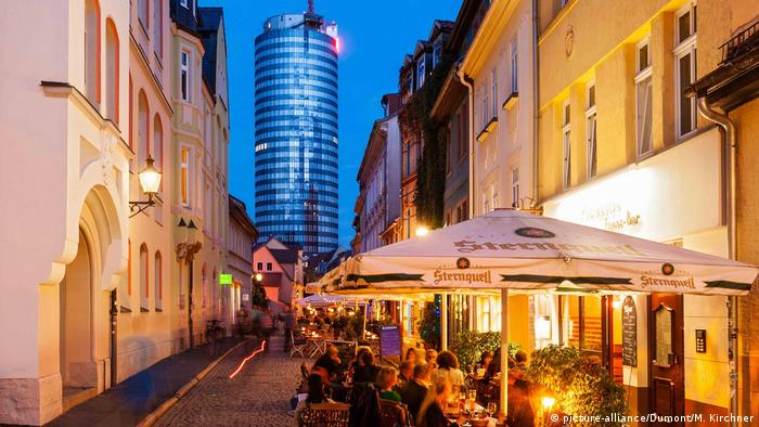 Wagnergasse, Jena (picture-alliance/Dumont/M. Kirchner)