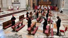 Vatikan Papst eröffnet Osterfeierlichkeiten