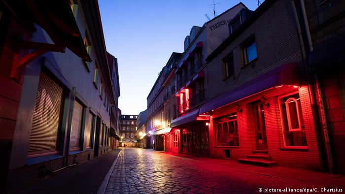 BG Deutschland steht still | Reeperbahn Hamburg
