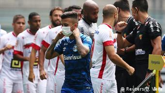Brasilien Fußball | Coronavirus | Gremio vs. Sao Luiz