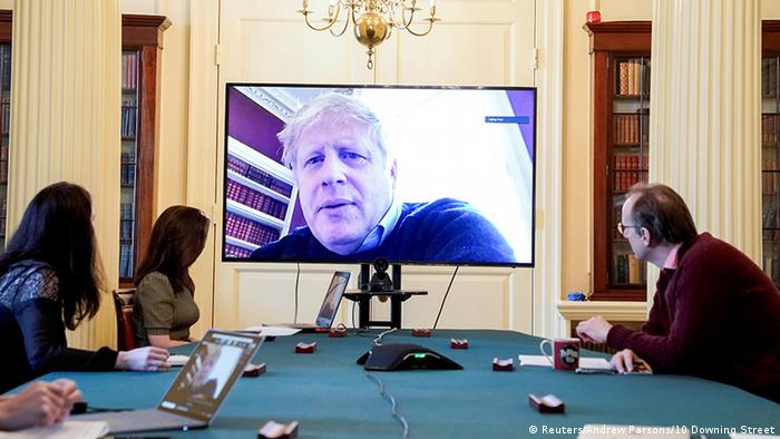 Bildergalerie Prominente & Corona-Infektion |Boris Johnson, Premierminister Großbritannien (Reuters/Andrew Parsons/10 Downing Street)