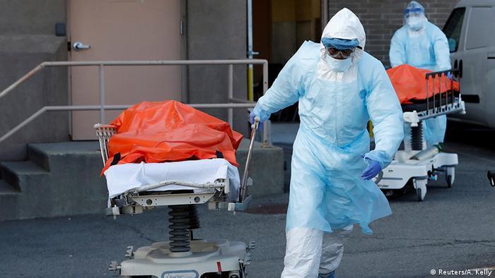 ارتفاع الوفيات بسبب كورونا في الولايات المتحدة إلى أكثر من 20 ألف حالة