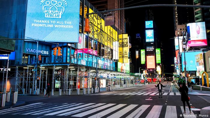 BdTD Time Square Manhattan USA (Reuters/E. Munoz)