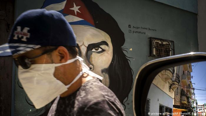 Lateinamerika Kuba Coronavirus Havana (picture-alliance/AP Photo/R. Espinosa)