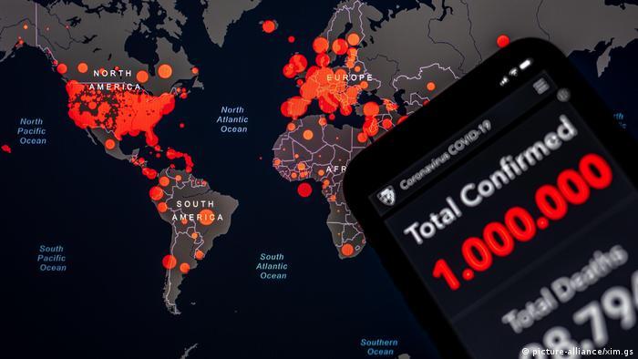 Coronavirus App Infektionszahlen Europa Welt / Zahlen für Illustration manipuliert (picture-alliance/xim.gs)