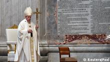 Coronavirus Vatikan Papst Messe