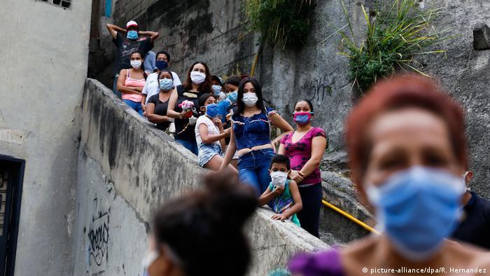El coronavirus golpea a Venezuela.