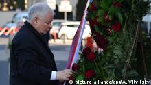Polen | 10. Jahrestag Flugzeugabsturz in Smolensk | Jaroslaw Kaczynski