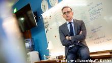 Coronavirus | Deutschland | Maas im Krisenzentrum Auswärtiges Amt