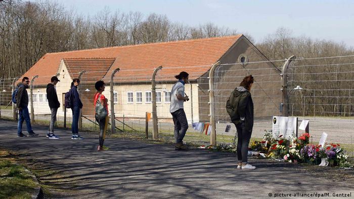 Deutschland Gedenken 75. Jahrestag der Buchenwald-Befreiung