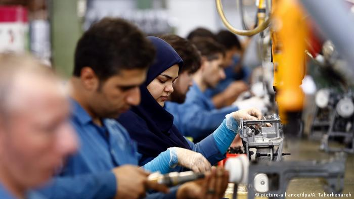 Iran Kachiran Nähmaschinenherstellung