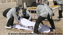Tunesien Coronavirus Weiße Operation in Tunis