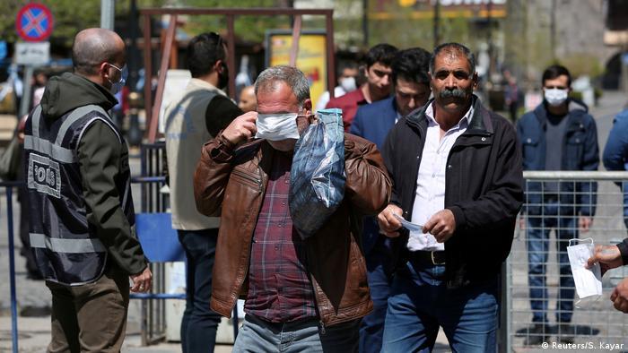 Türkei Geschäfte Markt Einkaufen Corona-Krise