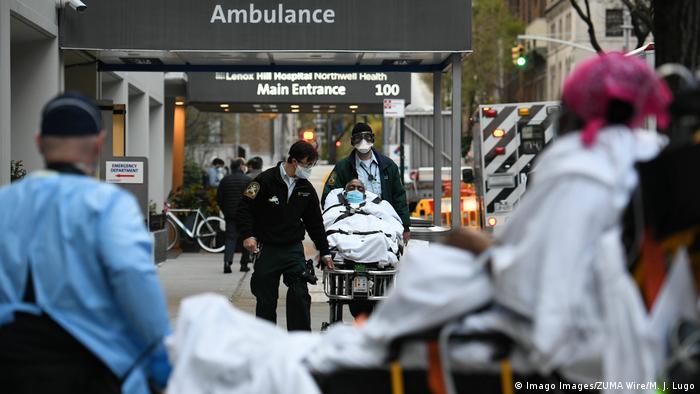 USA | Coronavirus: Krankenhaus in New York (Imago Images/ZUMA Wire/M. J. Lugo)