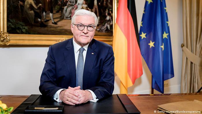 Chefe de Estado alemão, Frank-Walter Steinmeier