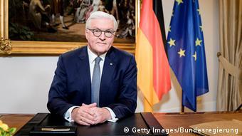 Ο Γερμανός πρόεδρος Φρανκ-Βάλτερ Σταϊνμάιερ