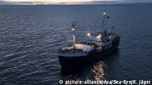 Rettungsschiff Alan Kurdi | Hilfsorganisation Sea Eye