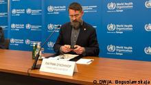 Weißrussland Pressekonferenz der WHO-Mission